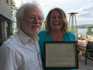 Jim Emberger & Stephanie Merrill